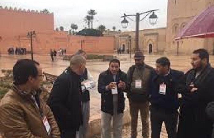 الجمعية الجهوية للمرشدين السياحيين بمراكش تواكب عملية تسجيل المهنيين غير الأجراء في صندوق cnss