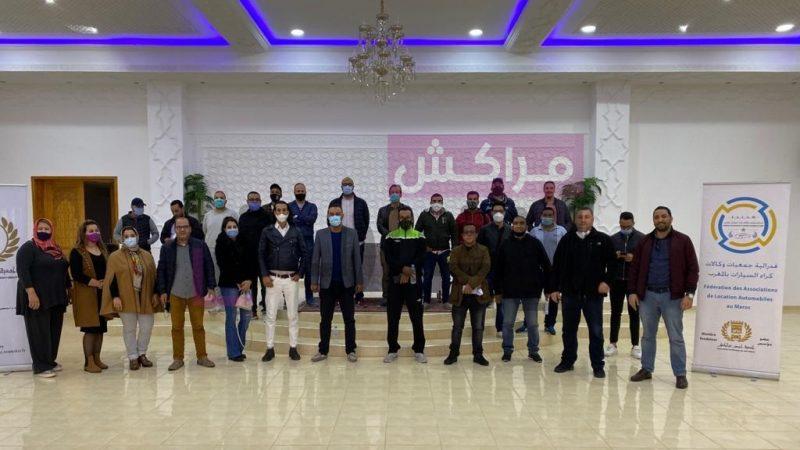 جمعية حصن مراكش تتدارس الوضعية الراهنة لقطاع كراء السيارات