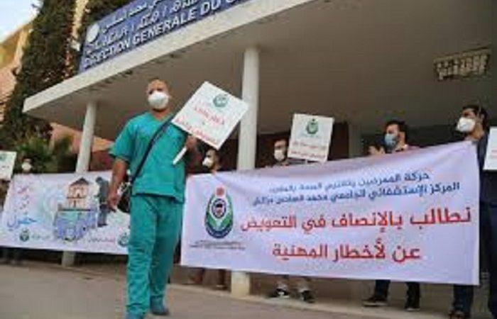 الممرضون يدخلون في إضراب وطني لمدة 48 ساعة