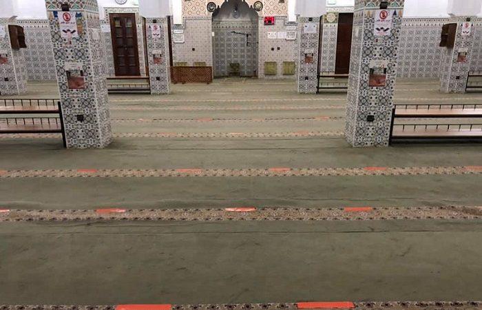 مسجد حي الإنارة يفتح أبوابه من جديد أمام المصلين