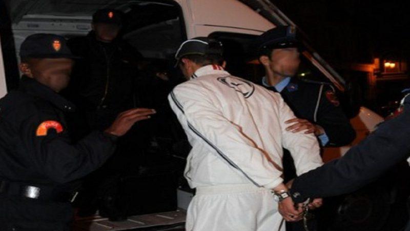 حجز حوالي 17 قنينة معبأة بالماحيا اثناء اعتقال شخصين من طرف أمن مراكش