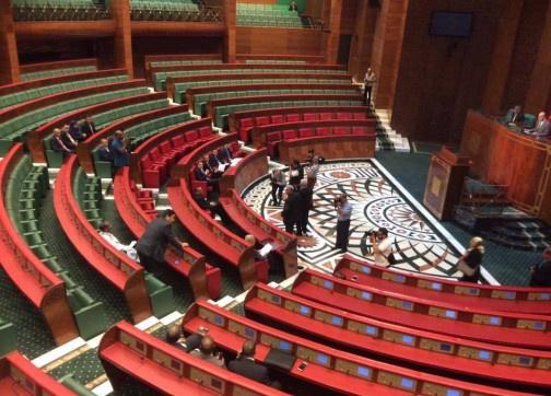 مجلس المستشارين يشتكي غياب الحكومة عن أشغال المجلس