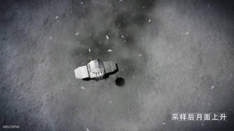 مركبة الصينية تهبط على محيط العواصف على سطح القمر
