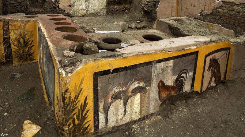 العثور على مطعم في المدينة البائدة.. ومأكولات عمرها ألفا سنة