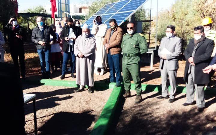 اٍحداث محطة لمعالجة مياه الصرف الصحي وإعادة استخدامها بأوريكا