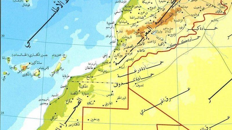 خارطة المغرب المتغيبة