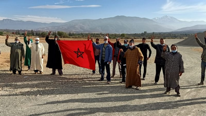 مقلع جديد للرمال بشيشاوة يخرج المجتمع المدني إلى الاحتجاج