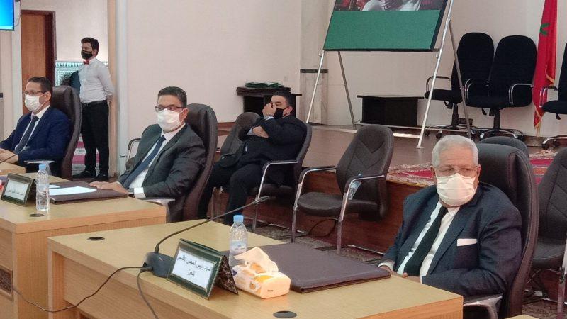 اٍجتماع بالحوز يناقش حماية ايت اورير من الفيضانات ودعم مشروع تهيئة محطة أوكايمدن