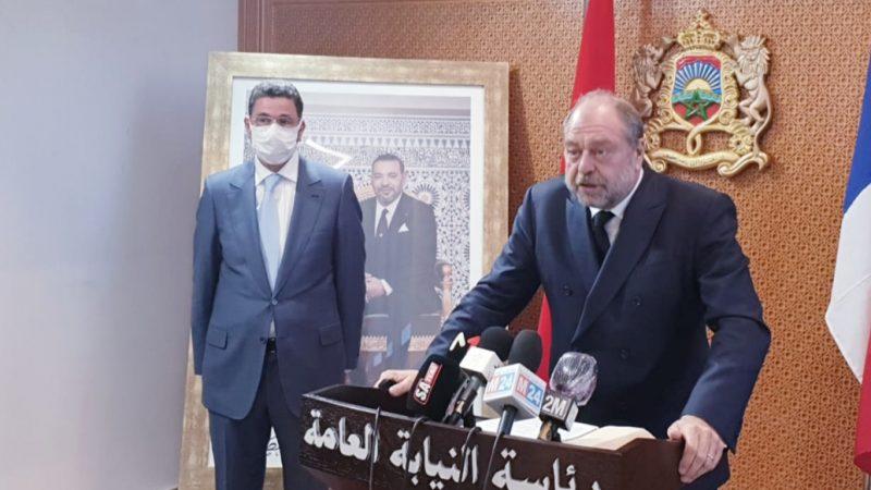 تعزيز آليات التعاون القضائي بين المغرب وفرنسا يجمع بين عبد النباوي ووزير العدل الفرنسي