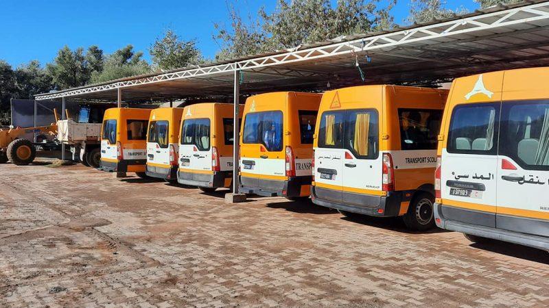 اسطول مركبات جماعة تديلي مسفيوة يتعزز بسيارة جديدة للنقل المدرسي
