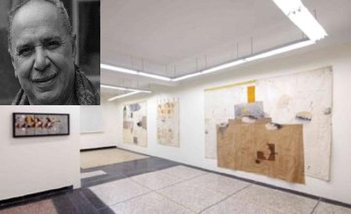 أعمال الفنان حسن بورقية في معرض بمراكش