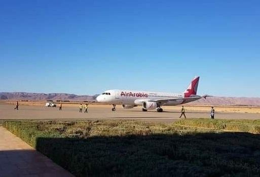مطار كلميم يستقبل أول رحلة قادمة من البيضاء