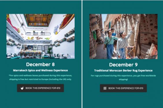 مواقع الكترونية أجنبية تطلق مبادرة لمساندة تجار وصناع تقليديين بمراكش