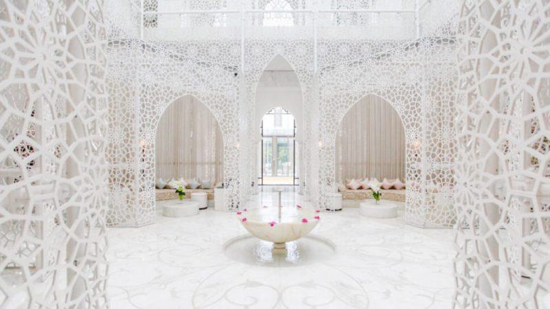"""المنتجع الصحي لفندق """"رويال منصور"""" مراكش ضمن الأجمل في العالم"""