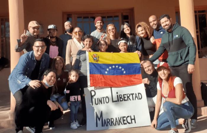 الجالية الفنزويلية في مراكش تشارك في الاستشارات الشعبية للمعارضة