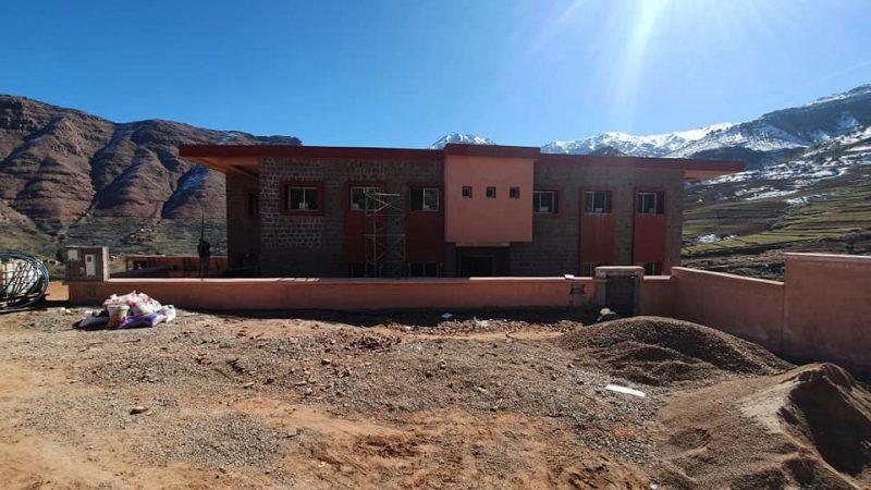 بناء وتجهيز مؤسسة جديدة لرعاية التلاميذ وإنقاذهم من شبح الهدر المدرسي بأوكايمدن