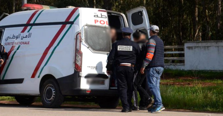 أمن مراكش ينهي نشاط 3 متورطين في عملية سرقة باستعمال العنف بحي جليز