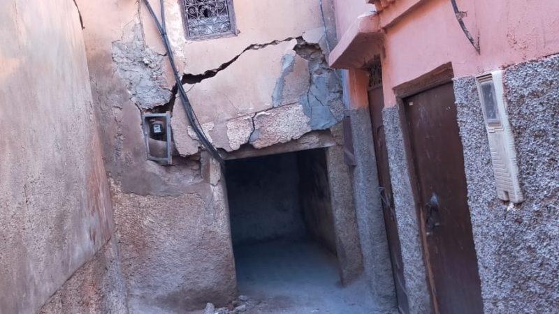 المنازل الآيلة للسقوط.. هل يتحرك مسؤولو مراكش قبل تكرار فاجعة الدار البيضاء ؟
