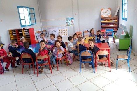 جهود متواصلة لبناء 100 حجرة للتعليم الأولي بالحوز