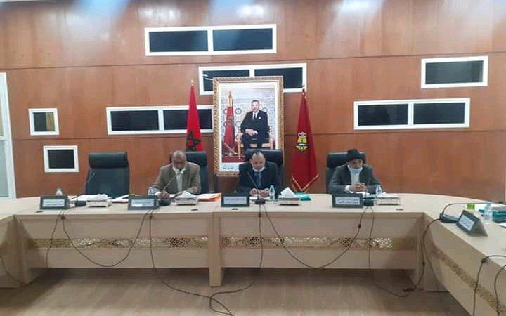 انعقاد دورة يناير للمجلس الإقليمي لأسفي دون الرئيس بسبب كورونا