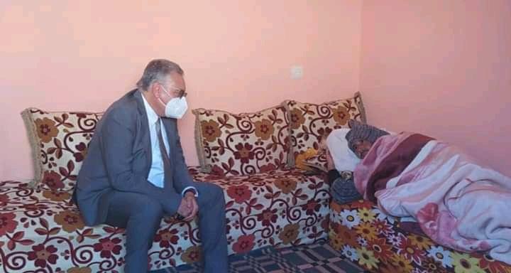 الأمين العام لحزب الكتاب يزور مناضلا بحزبه تعرض لمحاولة قتل بحربيل