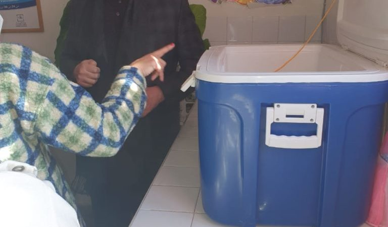 الوالي لحلو يشرف على اطلاق عملية التلقيح ضد كورونا من المركز الصحي الزرقطوني