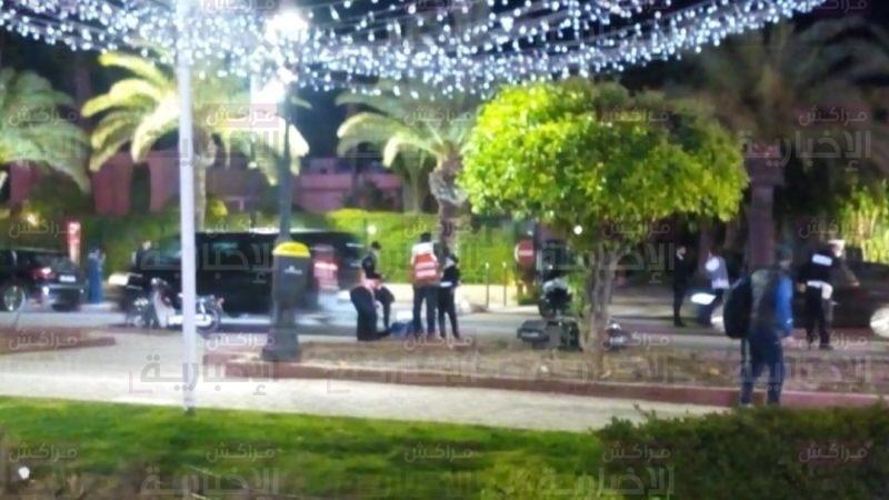 إصابة شابة بجروح خطيرة في حادث سير بشارع محمد السادس