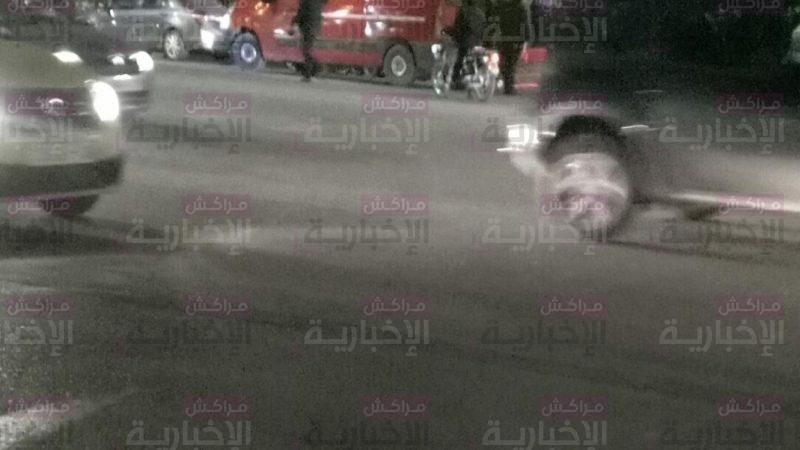 عاجل : نقل سائق سيارة خفيفة في حالة خطيرة بعد حادث اصطدام خطير بجليز