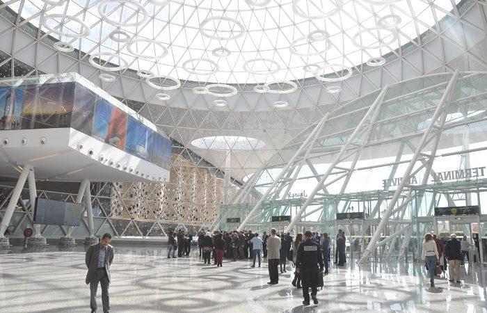 مطار مراكش المنارة يفقد حوالي 5 ملايين مسافر خلال سنة 2020