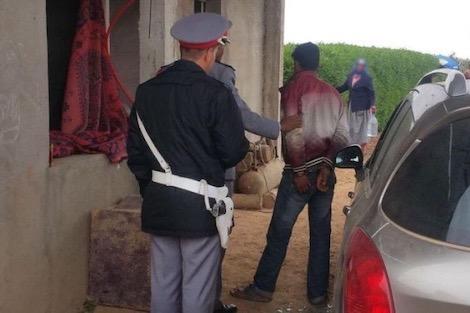اعتقال اربعيني اغتصب مسنة وتسبب في كسر يدها بالأوداية
