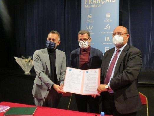 اتفاقية شراكة بين أكاديمية مراكش والمعهد الفرنسي للارتقاء بمستوى اللغة الفرنسية