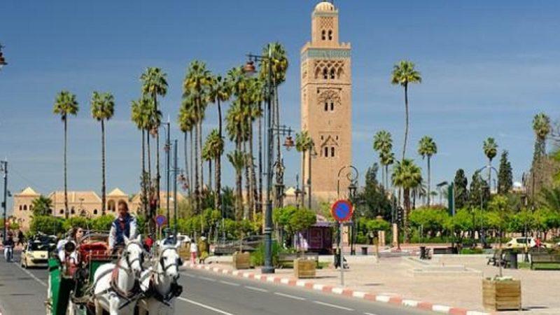 مراكش ضمن أرخص 10 مدن للسياح الإسبان خلال سنة 2021