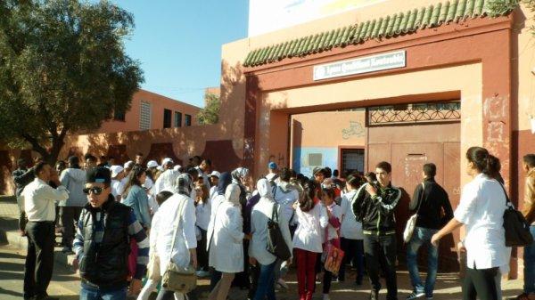 حملة للكشف عن كورونا تستهدف 4000 تلميذا من المستوى الإعدادي والثانوي بجهة مراكش آسفي