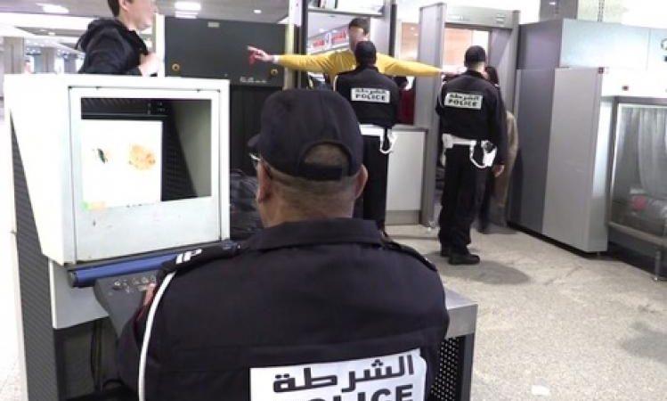 أمن مطار المنارة يحبط محاولة تهريب كمية من المخدرات