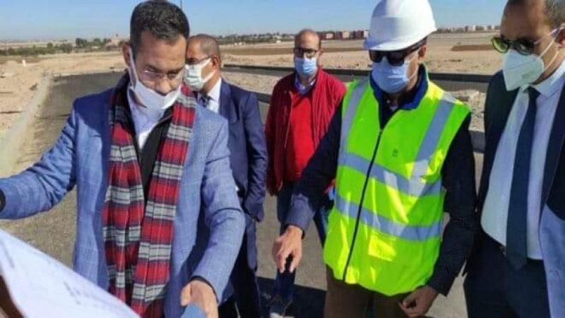 مكتب الشريف للفوسفاط يتفقد مشروع القطب الفلاحي بمدينة ابن جرير