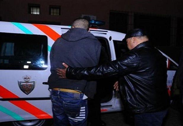 اعتقال سائق سيارة صدم شرطيين بمراكش أثناء محاولة للفرار