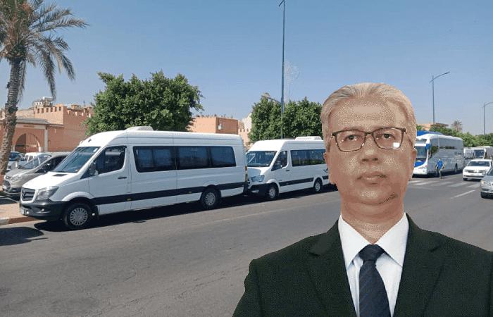مهنيو النقل السياحي بمراكش يستنجدون بالوالي لحلو من أجل ايجاد حلول سريعة لإنقاذ القطاع