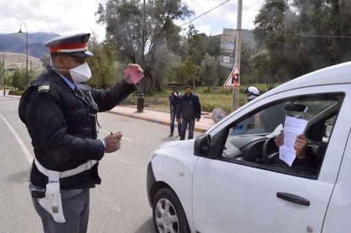 حملة تمشيطية ضد العربات المجرورة المعرقلة لحركة السير بالطريق الرئيسية بالأوداية
