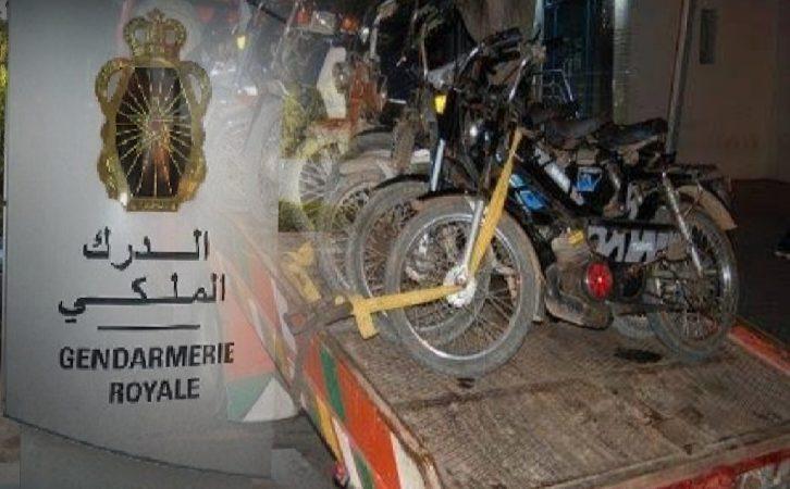 حملات أمنية مكثفة تواجه الدراجات النارية بتحناوت