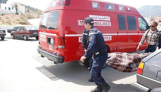 مصرع أجنبي في حادثة إصطدام بالرصيف بمنطقة املكيس