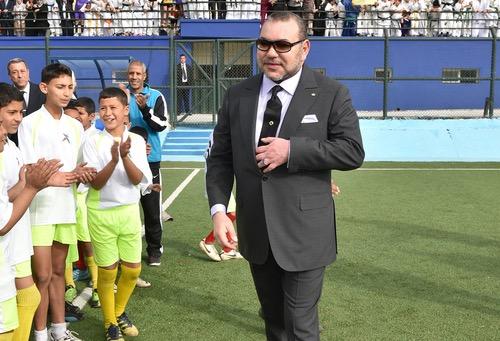 """رئيس """"الفيفا"""" ينوه بالتزام صاحب الجلالة الملك محمد السادس لفائدة تطوير كرة القدم الوطنية"""