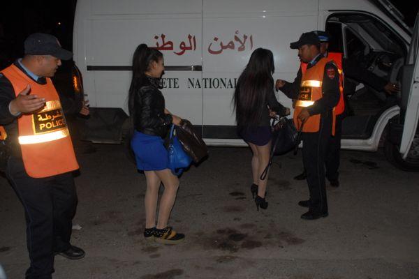 عاجل: اعتقال 3 فتيات رفقة شاب داخل صالون للتدليك بجليز
