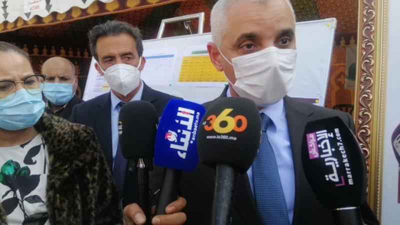 وزير الصحة من تحناوت: الحالة الوبائية بالمغرب مستقرة ومطمئنة وحملة التلقيح ستكون ناجحة