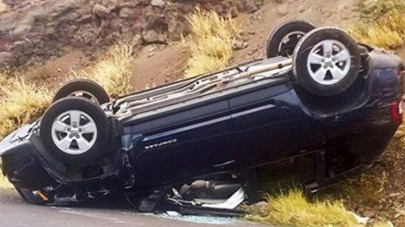 نجاة شخص من موت محقق في حادث انقلاب سيارة ضاحية مراكش