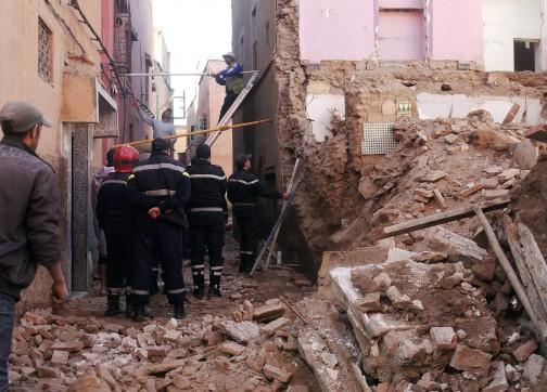 1600 منزل  بمراكش مهدد بالانهيار