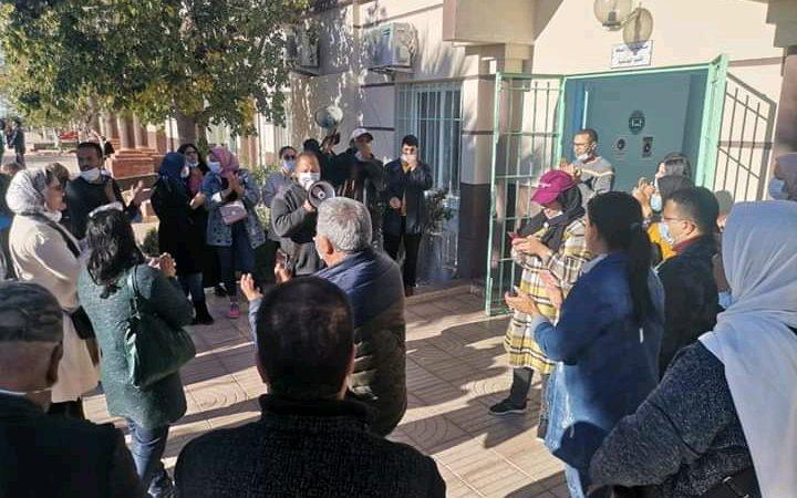 المندوب الإقليمي للصحة باليوسفية يثير غضب الشغيلة بعد انسحابه من اجتماع