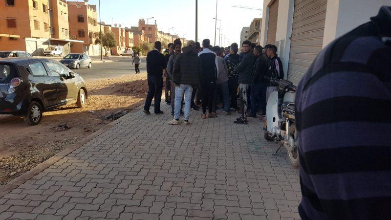 مشروع سكني بمراكش يحرم مرة أخرى عماله من مستحقاتهم الشهرية