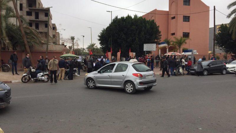 مواطن يتهجم على موظفين بمديرية التجهيز والنقل بمراكش