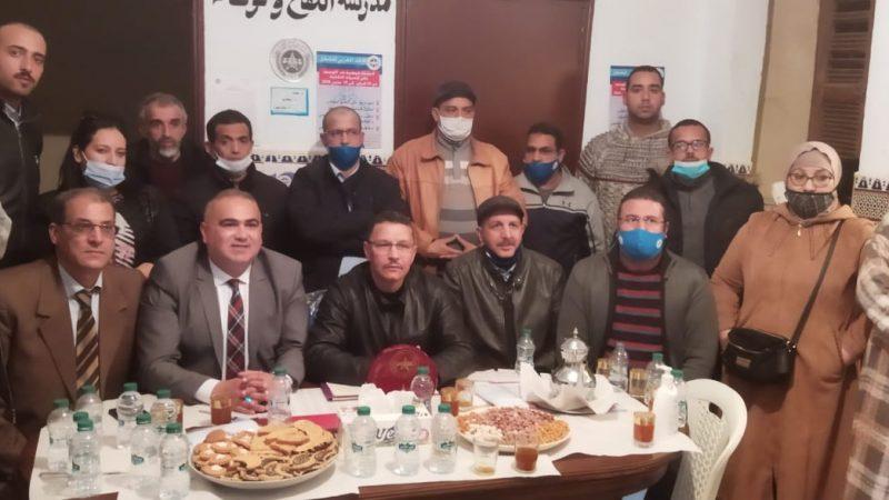 الاتحاد المغربي للشغل يجدد فرعه بإقليم الرحامنة