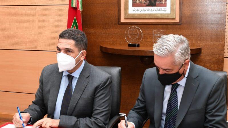 اتفاقية إطار للشراكة تهم وضع تدابير الاقتصاد في الطاقة والتحسيس والتكوين حول الاقتصاد الأخضر والنجاعة الطاقية.